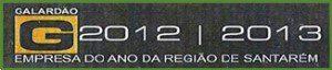 Galardão Empresa do ano da Região de Santarém para a Agrotemplário, Consultoria e Comércio de Produtos para a Agricultura